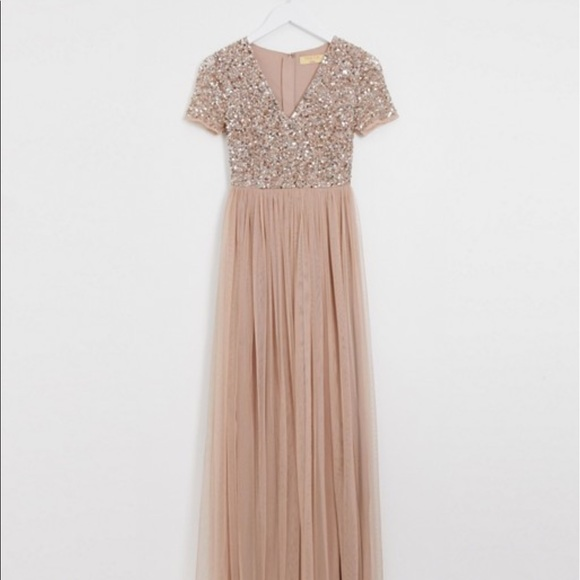 ASOS Petite Dresses & Skirts - Petite maxi tulle dress with sequins